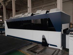 1000w roestvrij staal koolstofstaal ijzer metaal cnc plaatwerk vezel lasersnijmachine prijs te koop
