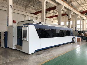1500 mm x 3000 mm hete verkoop en goede prijs Fiber Lasersnijmachine met 500W, 700W, 1000W laserbron