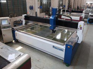2000 * 1500 mm 380 mpa schuurmiddel gehard en gelaagd glas hogedruk CNC waterstraalsnijmachine