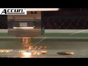 2000 W Metaallasersnijmachine voor roestvrij staal, zacht staal 12 mm, staalplaat CNC-laser