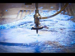 3D 5 Axis Waterjet CNC Machine-waterstraalsnijden Roestvrij staal-hogedruk waterstralen