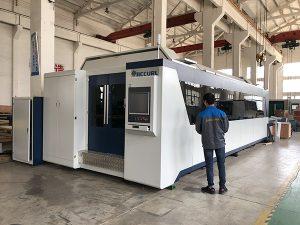 500W 700W 1kw, 2kw, 3kw, metaalplaat CNC glasvezel lasersnijmachine prijs met Trumpf, IPG