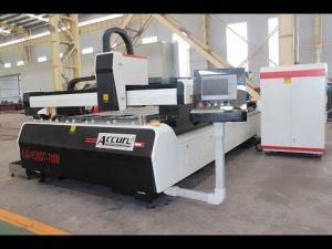 500W fiberlasersnijmachine voor metaalplaten - lasersnijmachine van roestvrij staal - merk MVD