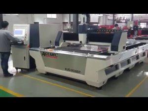 6mm Fiber Lasersnijmachine 1000W Fiber Lasersnijmachine voor roestvrij staal 3 mm