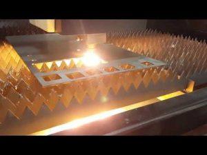 ACCURL Fiber Lasersnijden 12 mm met IPG 2kw lasersnijmachine voor metaalbewerking