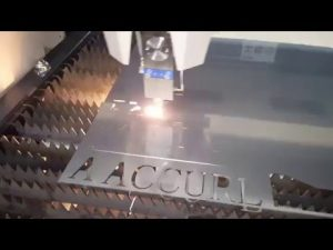 ACCURL IPG 500w 700w vezellasersnijmachine - CNC lasersnijmachine voor zacht staal 6 mm