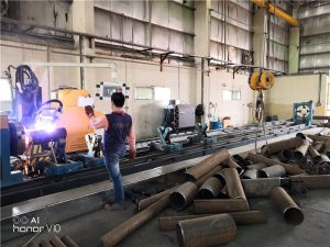 stalen snijmachine voor fiber lasersnijden metalen pijp snijden te koop