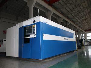 CNC vezellasersnijmachine 500w 700w 1000w 2000w 3000w zacht / roestvrij / koolstofstaal