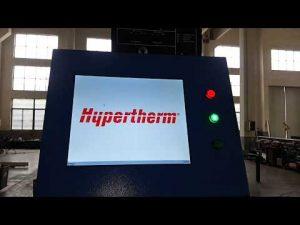 cnc plasmasnijden en oxyvlam snijmachine met hypertherm hyperformance plasma hpr400xd