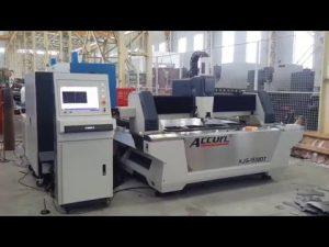 Fiber 500W CNC lasersnijmachine voor plaatstaal 6 mm zacht staal, roestvrij staal, koper, messing