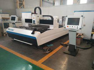 Fiber plaatwerk lasersnijmachine