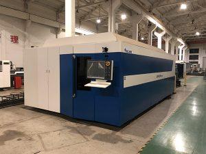 Hoogvermogen CNC-vezellasersnijmachine voor lasersnijden in lasersnijden in roestvrij staal