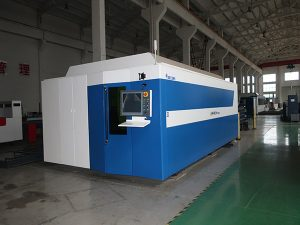 De industrie gebruikte vezellasersnijmachine 750w / 1000w prijs