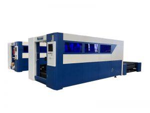 economische lasersnijmachine van de type vezel voor lasersnijmachine van staal / metaal te koop