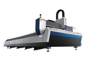 Cnc 4000w koolstofstaal roestvrij staal vezel lasersnijmachines machines bedrijven