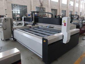 lage prijs waterstraal cnc plaatwerk snijmachine