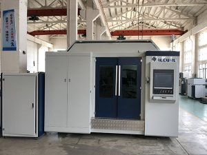 metaal snijdende 500w vezellasermachine China met prefect vlotte rand