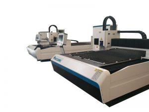 lager verbruik fiber lasersnijmachine / plaatwerk cnc snijmachine