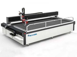 cnc waterstraal snijmachine trap metaal gebruikte watersnijder